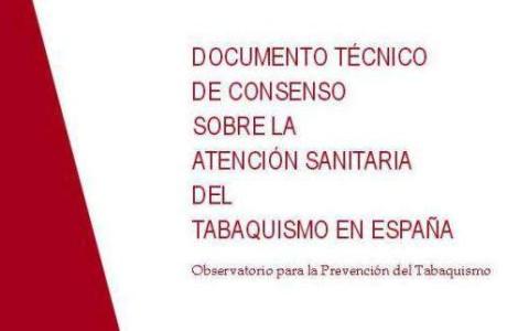 Documento técnico de consenso sobre la atención sanitaria del tabaquismo en España