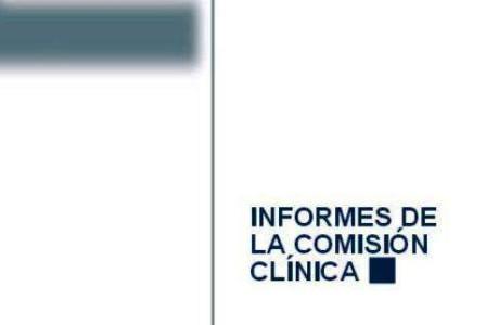 informes comisión clínica del Plan Nacional sobre Drogas