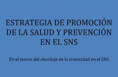 Estrategia de Promoción de la Salud y Prevención en el SNS