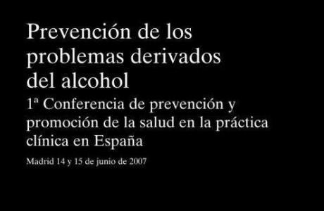 prevención de los problemas derivados del alcohol