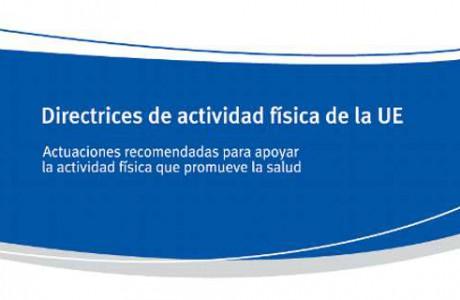 Directrices de actividad física de la UE
