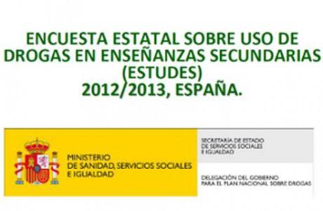 Encuesta Estatal sobre Uso de Drogas en Enseñanzas Secundarias