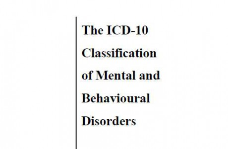 The ICD-10 Classification of Mental and behavioural disorders: diagnostic criteria for research